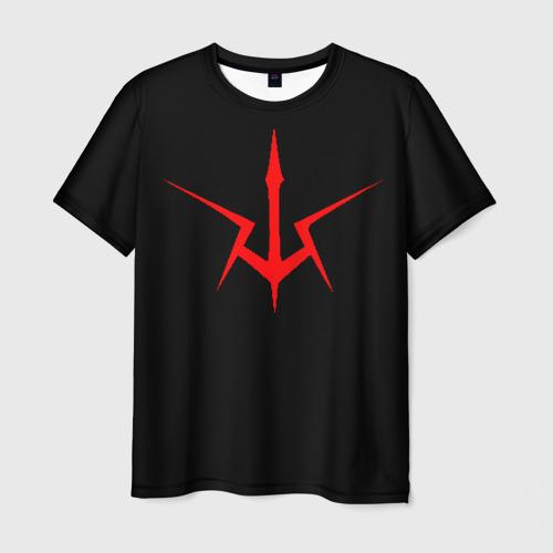 Мужская футболка 3D Code Geass logo red