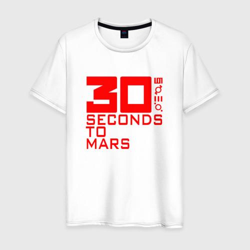 Мужская футболка хлопок 30 SECONDS TO MARS