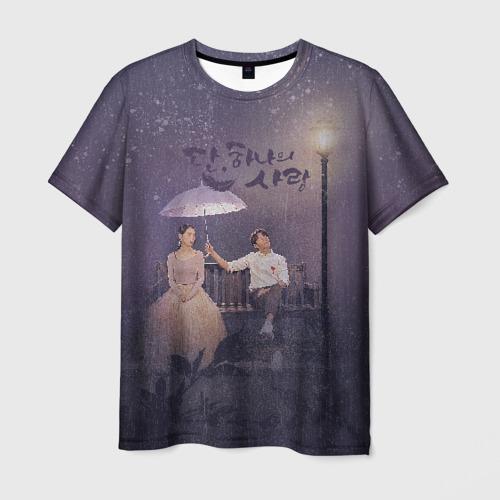 Мужская футболка 3D Миссия ангела: Любовь