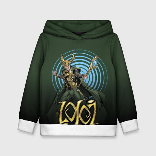 Детская толстовка 3D Loki