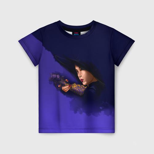 Детская футболка 3D Отель Дель Луна