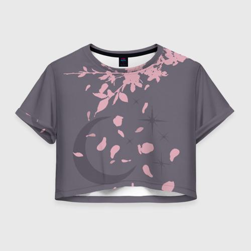 Женская футболка Crop-top 3D Bombam