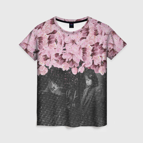 Женская футболка 3D One Spring Night