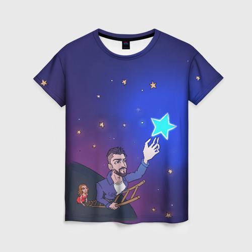 """Женская футболка 3D JONY \""""Звезда\"""""""