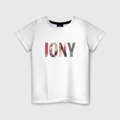 """Детская футболка хлопок Jony \""""Аллея\"""""""