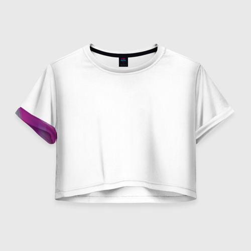 Женская футболка Crop-top 3D Asti & Artik