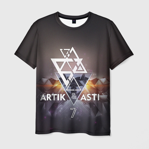 Мужская футболка 3D ARTIK & ASTI 7