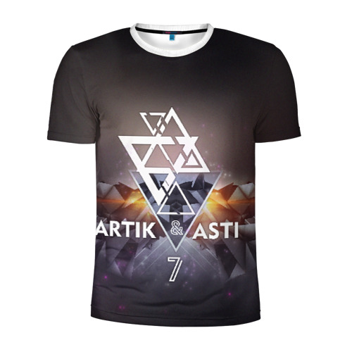 Мужская футболка 3D спортивная ARTIK & ASTI 7