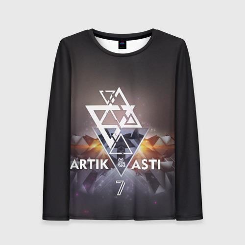 Женский лонгслив 3D ARTIK & ASTI 7