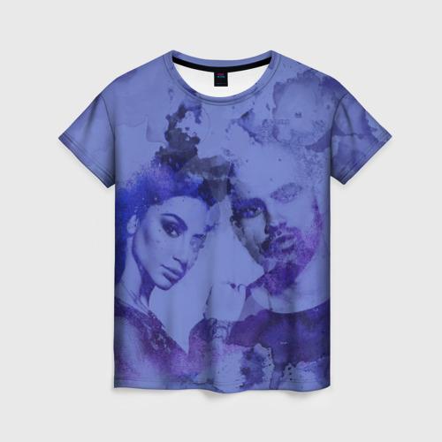 Женская футболка 3D Artik & Asti - Неделимы