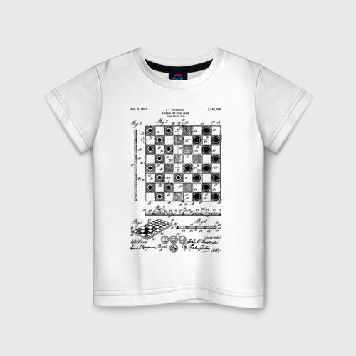 Детская футболка хлопок Patent - Chess board