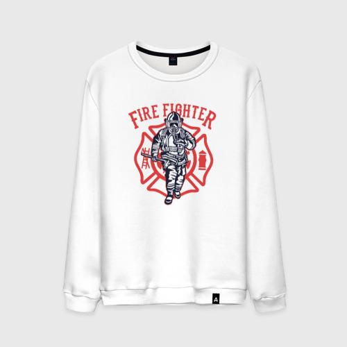Мужской свитшот хлопок Fire fighter