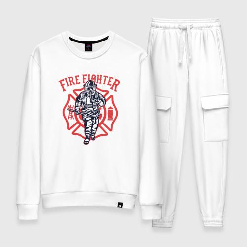 Женский костюм хлопок Fire fighter