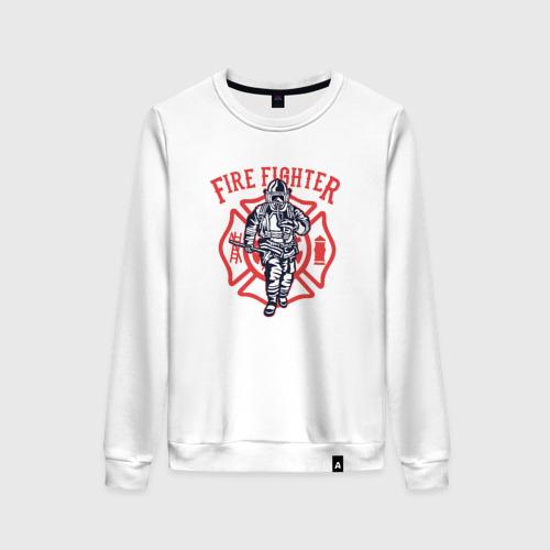 Женский свитшот хлопок Fire fighter