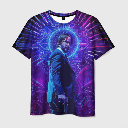 Мужская футболка 3D John Wick (application)