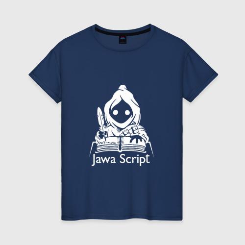 Женская футболка хлопок JavaScript