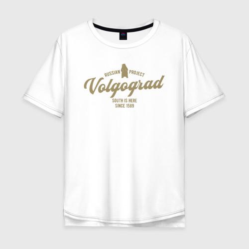 Мужская футболка хлопок Oversize Волгоград