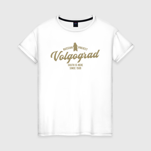 Женская футболка хлопок Волгоград