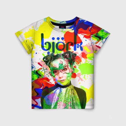 Детская футболка 3D Bjork