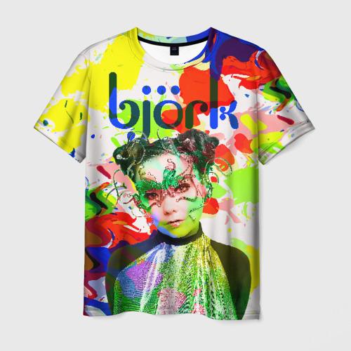 Мужская футболка 3D Bjork