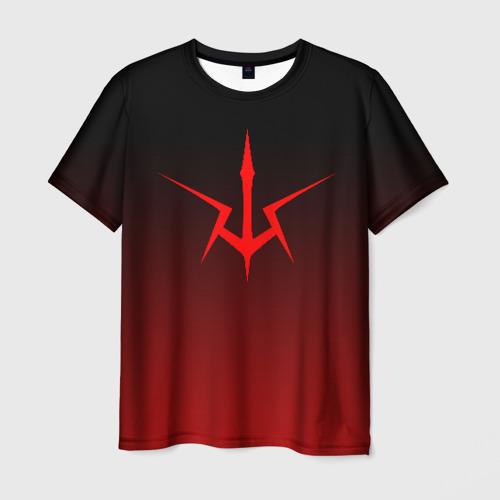 Мужская футболка 3D Code Geass logo gradient