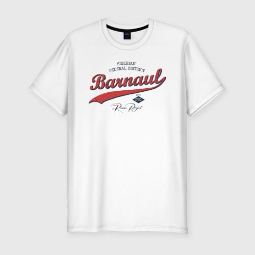 Мужская футболка хлопок Slim Барнаул СФО