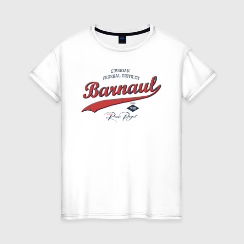 Женская футболка хлопок Барнаул СФО