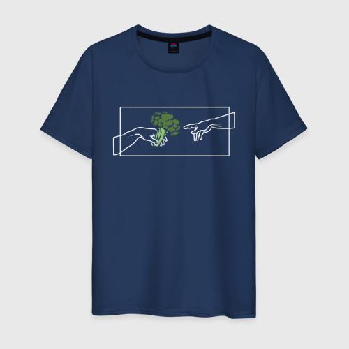 Мужская футболка хлопок Сотворение Вегана