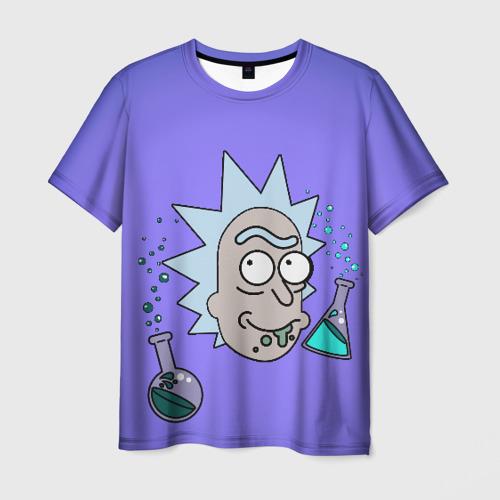 Мужская футболка 3D Smart Rick