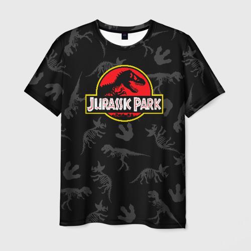 Мужская футболка 3D Парк Юрского Периода