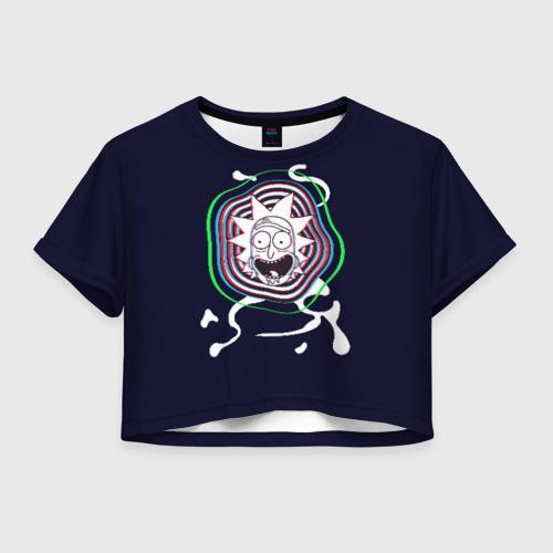 Женская футболка Crop-top 3D Mad Rick