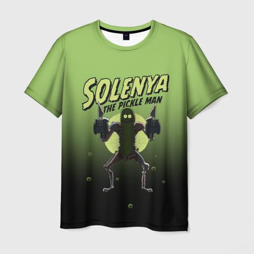 Мужская футболка 3D Solenya