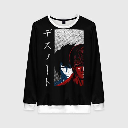 Женский свитшот 3D Death Note (24)