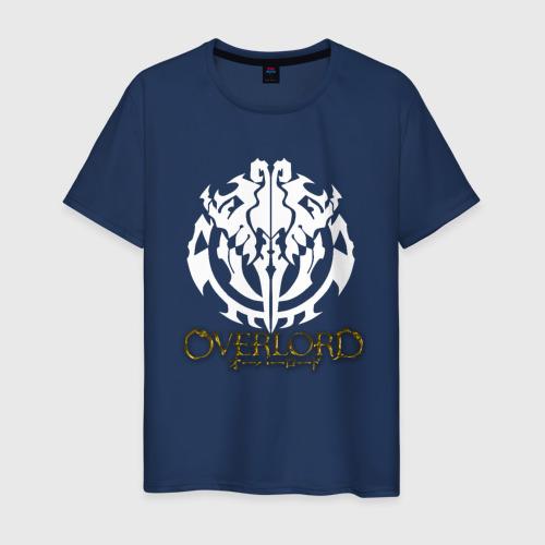 Мужская футболка хлопок Объемное лого оверлорд