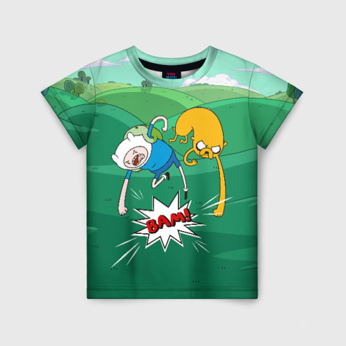 Детская футболка 3D Bam!