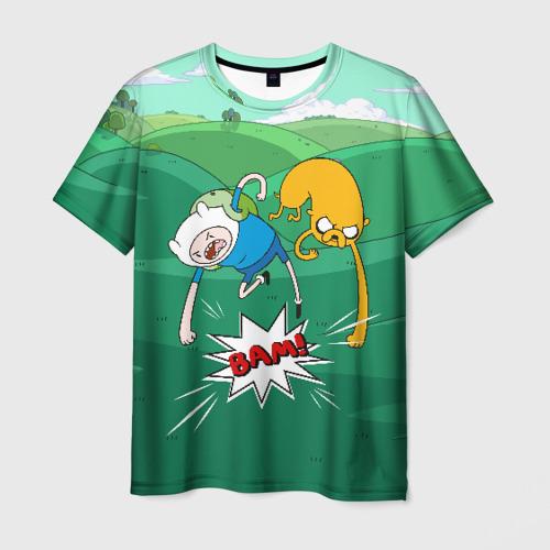 Мужская футболка 3D Bam!