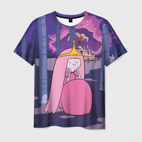 Мужская футболка 3D Принцесса Жвачка