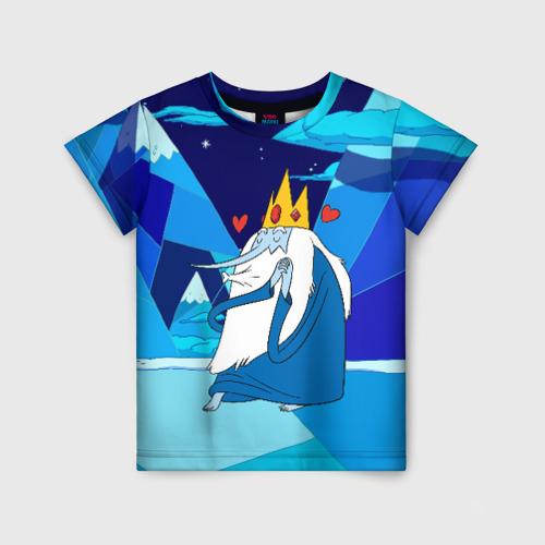 Детская футболка 3D Ледяной король