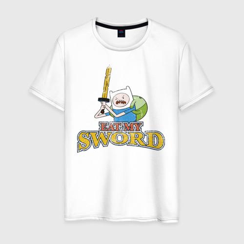 Мужская футболка хлопок Eat my sword