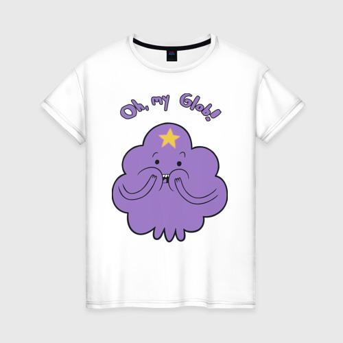 Женская футболка хлопок Oh, my Glob!