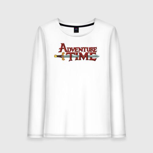 Женский лонгслив хлопок Adventure time