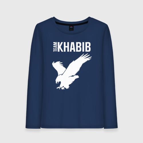 Женский лонгслив хлопок Team Khabib