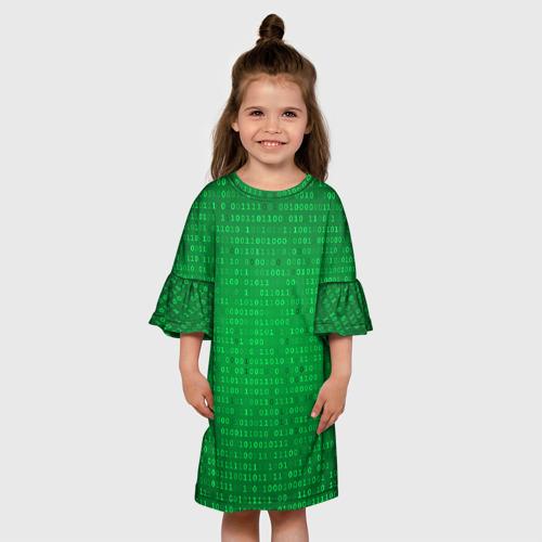 Детское платье 3D THE MATRIX