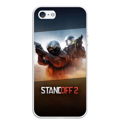 Чехол для iPhone 5/5S матовый STANDOFF 2