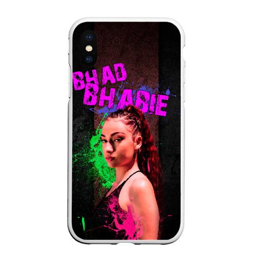 Чехол для iPhone XS Max матовый Bhad Bhabie