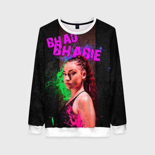 Женский свитшот 3D Bhad Bhabie
