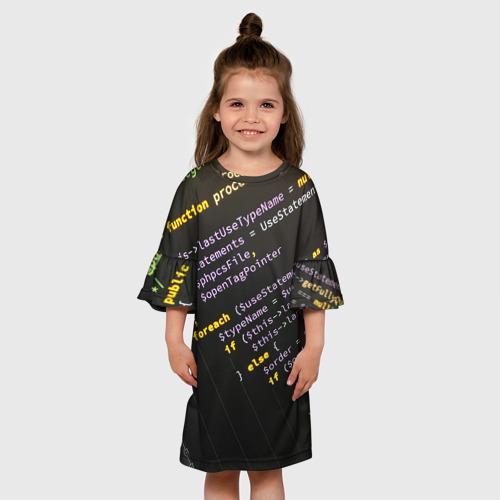 Детское платье 3D ПРОГРАММНЫЙ КОД