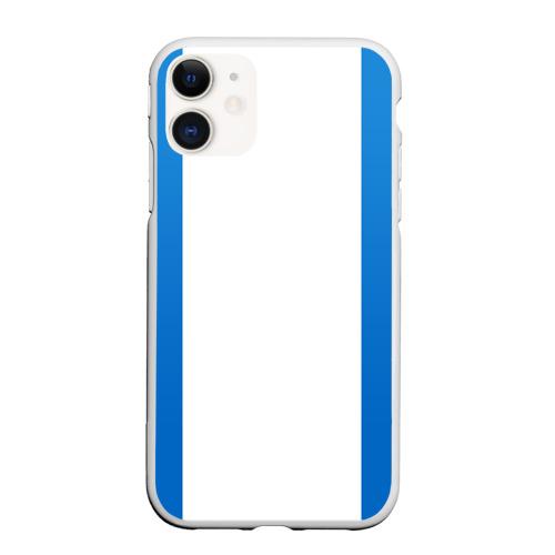 Чехол для iPhone 11 матовый BRAWL STARS LEON SHARK | ЛЕОН АКУЛА