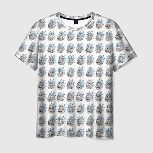 Мужская футболка 3D Эмоции Рика