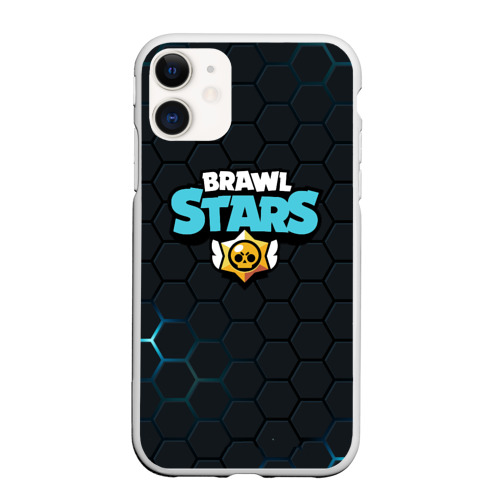 Чехол для iPhone 11 матовый Brawl Stars